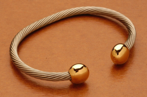 Bio-Ray Bracelet Silver